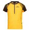 La Sportiva Sonic T-Shirt - Men's, Black/Yellow, Large