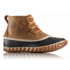 Sorel Out 'N About Lace Casual Boot, Youth, Elk/ Black, 6 US