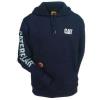 Caterpillar Flame Resistant Banner Hooded Sweatshirt, FR Navy, 2XL