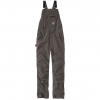 Carhartt Rugged Flex Rigby Bib Pants   Mens, Gravel, 30 Waist, 30 Inseam