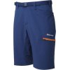 Montane Dyno Stretch Shorts - Men's-Antarctic Blue/Tangerine-12 in-Large