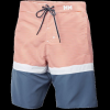 Helly Hansen Mens Marstrand Trunk, Paprika Stripe, 30