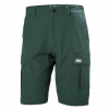 Helly Hansen Mens Qd Cargo Shorts 11 Inch, Jungle Green, 30 Waist