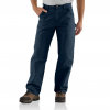 Carhartt Washed Duck Work Dungaree For Mens, Midnight, 28/30