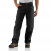 Carhartt Washed Duck Work Dungaree For Mens, Black, 28/30