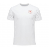 Black Diamond Circle Logo Men's Short Sleeve Tee Shirt, White, Large