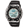 Casio Outdoor Fishing Timer-Therm/Moon, Black