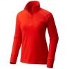 Mountain Hardwear Microchill 2.0 W Zip T Fiery Red, Fiery Red, M