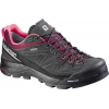 Salomon X Alp LTR GTX Approach Shoe - Women's-Asphalt/Bordeaux/Pink-Medium-8.5