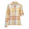 Demo,Woolrich Women's Carabella Convertible Shirt, Aqua Ice, M