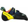 Evolv Shakra Climbing Shoe - Women's-Aqua/Neon Yellow-6