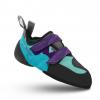 Mad Rock Lyra Womens Climbing Shoes, Teal/Purple, 3 US