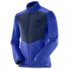 Salomon Pulse Warm Jacket - Mens, Dress Blue, Small