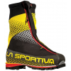 La Sportiva G2 Mountaineering Boot - Mens, Black/Yellow, 37 EU