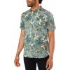 Dakine Poipu Short Sleeve Woven Shirt - Men's, Balsam Green Painted Trop, Large