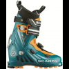 Scarpa F1 Touring Ski Boot-Petrol Blue/Orange-26