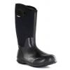 Bogs Womens Classic High Shiny Boot,Black Shiny,Size 10