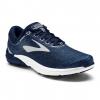 Brooks PureCadence 7 Men's Road Running Shoe, Peacoat/Silver/White, 8 US