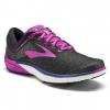Brooks PureCadence 7 Women's Road Running Shoe, Black/Purple/Multi, 6 US