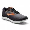 Brooks PureFlow 7 Men's Road Running Shoe, Grey/Black/Copper, 8 US
