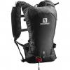Salomon Agile 6 Set Running Backpack, Barbados CherryGraphite