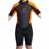 Level Six Child's Shorty Wetsuit, Orange, 2