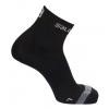 Salomon Sence Support Run Ankle Ultra Light Sock, Black/Gray, Small