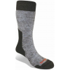 Bridgedale MerinoFusion Summit Mid Calf Sock - Men's-Grey-X-Large