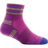 Darn Tough Running Vertex 1/4 Ultra Light Cushion Sock - Women's, Clover, Large