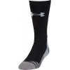Under Armour Mens Hitch Heavy 3.0 Socks, Black/Steel, 10-13 Large