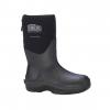 Dryshod Dungho Mid Tough Boots - Men's, Black/Grey, 7