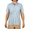 Gramicci Sunset Solid Men's Short Sleeve Shirt, Dream Blue, Large, MSS138-P10DRB-LG