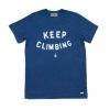 Compas Life Keep Climbing T-Shirt, Navy, Large