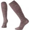 Smartwool Wheat Fields Knee High Sock - Women's, Bordeaux Heather, Large