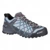 Salewa Wildfire Women's Approach Shoe, Magnet/Blue Fog, 6.5 US