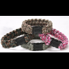 Bison Designs Paracord Side Release Survival Bracelet-Cobra-Camo Assorted-Small