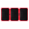 Core Third Maasai 18 Solar Charger, Black/Red, Hyperlon, 1 Year Mfg Warranty