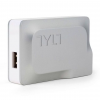 TYLT Quik Smart Charger 1X, Silver, Silver, 1 Year Mfg Warranty