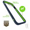 Bodyguardz Unequal iPhone 7 Contact, Navy/Green, Navy/Green