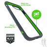 Bodyguardz Unequal iPhone 7 Contact, Grey/Green, Grey/Green