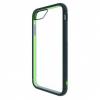 Bodyguardz Unequal iPhone 6/7 Contact, Black, Navy/Green, Tpu/Silicone, 1 Year Mfg Warranty
