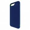 Bodyguardz Unequal iPhone 6 Plus/7 Plus Shock Case, Nvy/Grn, Navy/Green, Tpu/Silicone, 1 Year Mfg Warranty