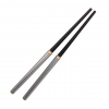 Acecamp Stainless Steel Folding Chopsticks, Black/Matte Silver, 1 Year Limited Warranty