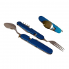 Acecamp Detachable Cutlery Set, Blue, Blue, 1 Year Limited Warranty