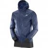 Salomon Fast Wing Hybrid Jacket - Mens, Dress BlueBlack, L