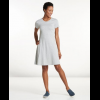Toad&Co Windmere Short Sleeve Dress, Heather Grey, Large