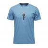 Black Diamond Cam Man Men's Short Sleeve Tee Shirt, Blue Steel, Large