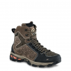 Irish Setter Mens Ravine 9in Waterproof Leather Hiking Boots w/ScentBan, Gray/Black, 8D,  080