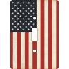 Open Road Brands American Flag Single Switch Plate 3.5''x5''