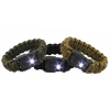 Bison Designs BUKaLITE Survival Bracelet-White LED-Black-Small